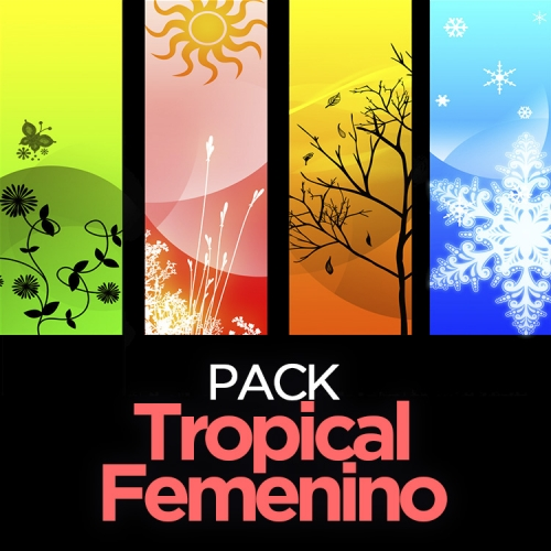Pack TROPICAL FEMENINO