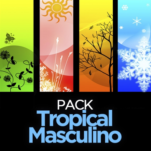 Pack TROPICAL MASCULINO